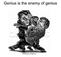 Genius is...the enemy of genius