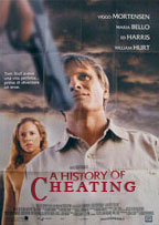 A History of Violence movie poster changed to A History of Cheating