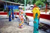 Playground scene